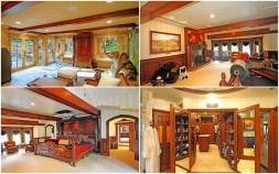 Drake house master bedroom