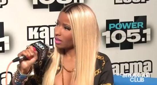 Nicki Minaj on Kendrick