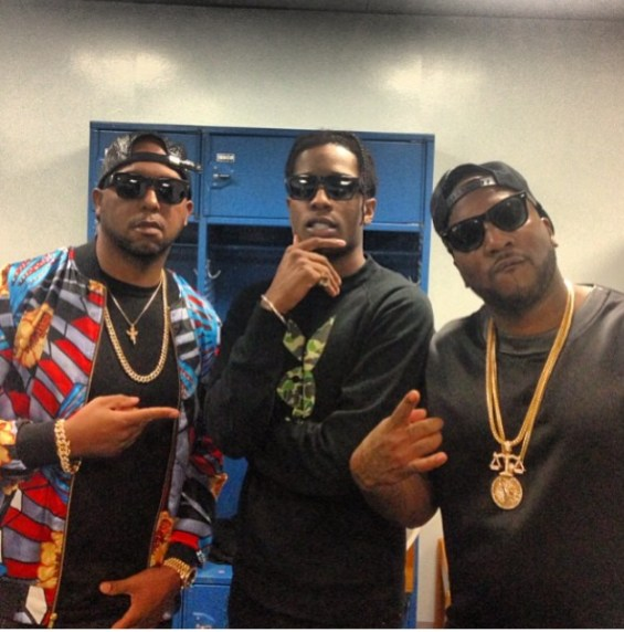 ASAP Rocky & Young Jeezy In Exclusive Game in Cali