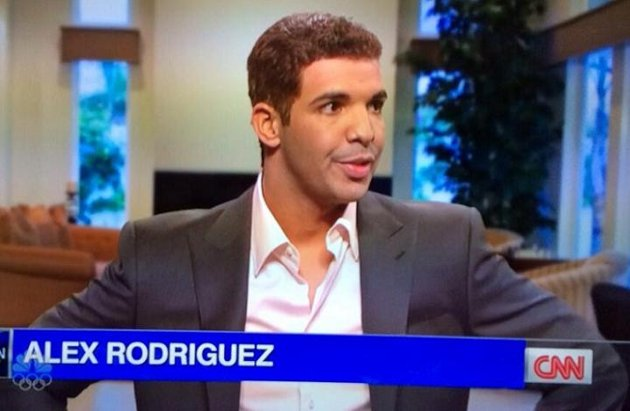 Drake As Alex Rodriguez