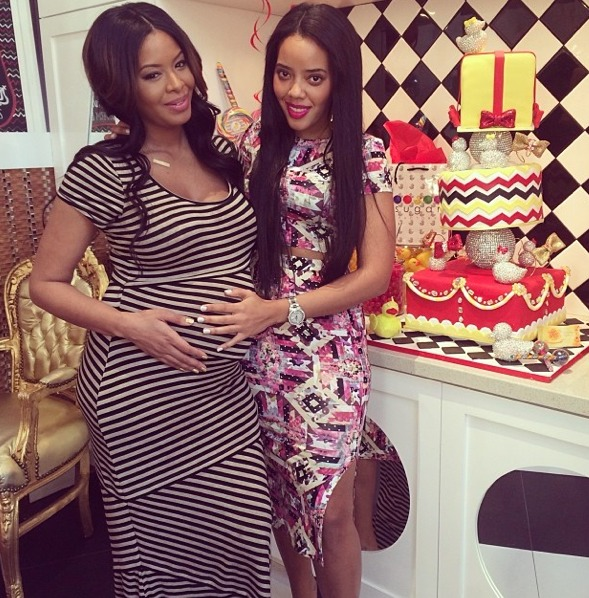 Vanessa Simmons and Mike Wayans 9