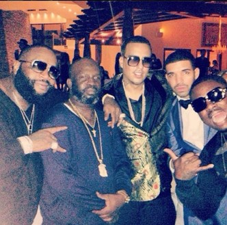 Rick Ross, French Montana, Drake, & Meek Mill