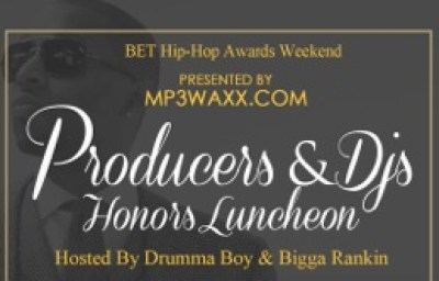 MP3Waxx Producers & DJs Honors Luncheon Flyer D1~2