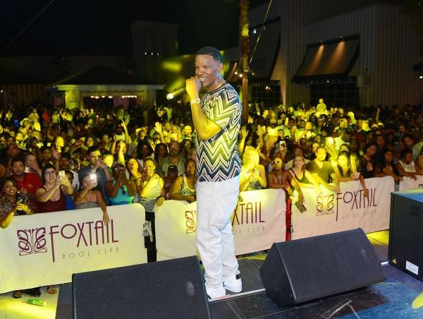 Jamie Foxx at SLS Anniversary
