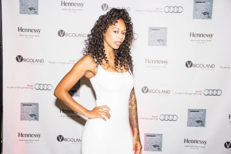 "Bambi (​VH1 Love & Hip Hop Atlanta/Basketball Wives LA) Attends Reneard's ""Confessions of A Virgo"" Album Release Party at Audi Atlanta"