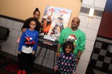Jermaine Dupri with daughters Jalynn (right), Shaniah (back left) and friend Taryn