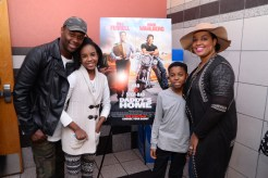 gospel artist Micah Stampley and family