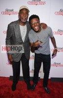 "ATLANTA, GA - OCTOBER 26: Danny Glover and DC Young Fly attend ""Almost Christmas"" Atlanta screening at Regal Cinemas Atlantic Station Stadium 16 on October 26, 2016 in Atlanta, Georgia. (Photo by Paras Griffin/Getty Images for Universal Pictures)"