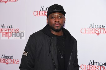 "ATLANTA, GA - OCTOBER 26: Actor Omar Epps attends ""Almost Christmas"" Atlanta screening at Regal Cinemas Atlantic Station Stadium 16 on October 26, 2016 in Atlanta, Georgia. (Photo by Paras Griffin/Getty Images for Universal Pictures)"