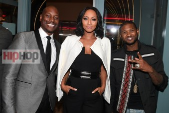 "ATLANTA, GA - OCTOBER 26: Tyrese Gibson, Keri Hilson and Usher Raymod attend ""Almost Christmas"" Atlanta screening at Regal Cinemas Atlantic Station Stadium 16 on October 26, 2016 in Atlanta, Georgia. (Photo by Paras Griffin/Getty Images for Universal Pictures)"