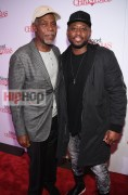 "ATLANTA, GA - OCTOBER 26: Danny Glover and Omar Epps attend ""Almost Christmas"" Atlanta screening at Regal Cinemas Atlantic Station Stadium 16 on October 26, 2016 in Atlanta, Georgia. (Photo by Paras Griffin/Getty Images for Universal Pictures)"