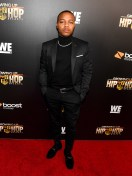 """ATLANTA, GA - JANUARY 09: Shad Moss aka Bow Wow attends """"Growing Up Hip Hop Atlanta"""" season 2 premiere party at Woodruff Arts Center on January 9, 2018 in Atlanta, Georgia. (Photo by Paras Griffin/Getty Images for WEtv)"""