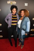 """ATLANTA, GA - JANUARY 09: Janee Bolden (R) attends """"Growing Up Hip Hop Atlanta"""" season 2 premiere party at Woodruff Arts Center on January 9, 2018 in Atlanta, Georgia. (Photo by Paras Griffin/Getty Images for WEtv)"""