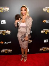 """ATLANTA, GA - JANUARY 09: ZONNIQUE PULLINS attends """"Growing Up Hip Hop Atlanta"""" season 2 premiere party at Woodruff Arts Center on January 9, 2018 in Atlanta, Georgia. (Photo by Paras Griffin/Getty Images for WEtv)"""