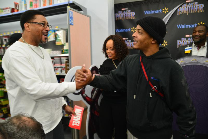 T.i christmas giveaway at walmart