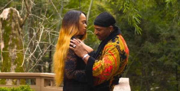 Stevie J And Faith Evans Get Hot & Steamy In