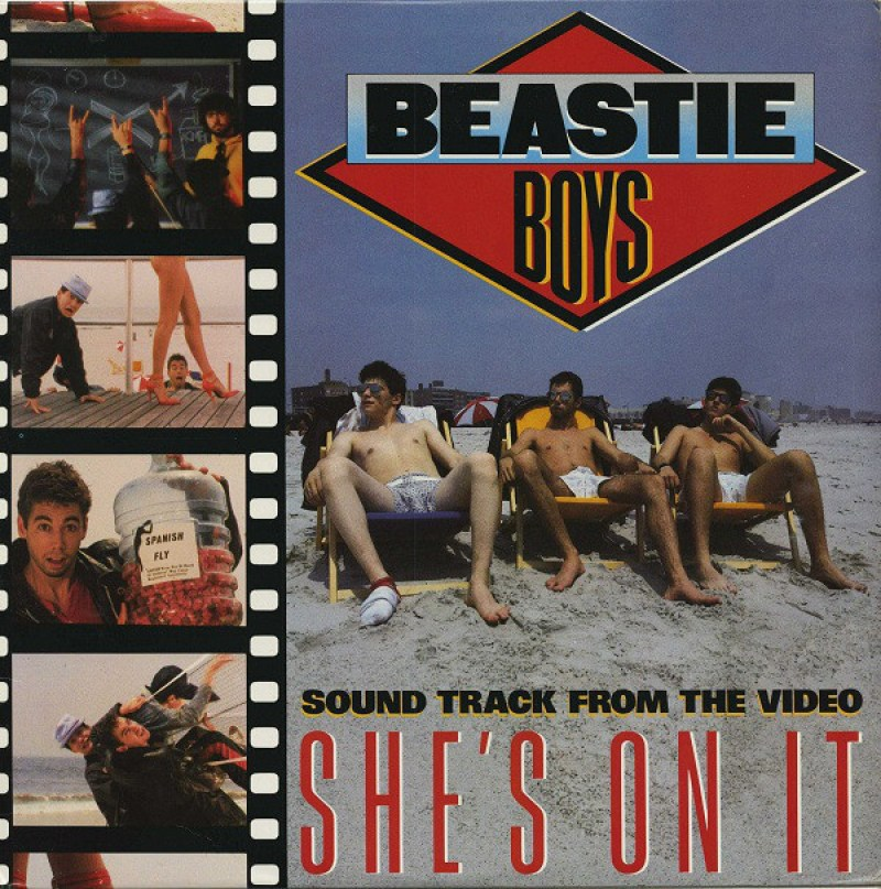 """Beastie Boys """"She's On It"""" (1985)"""