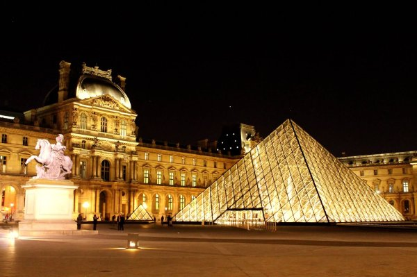 Visiting Louvre With Children Brave