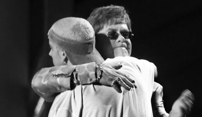 Eminem & Elton John à la 43 ème cérémonie des Grammy Awards