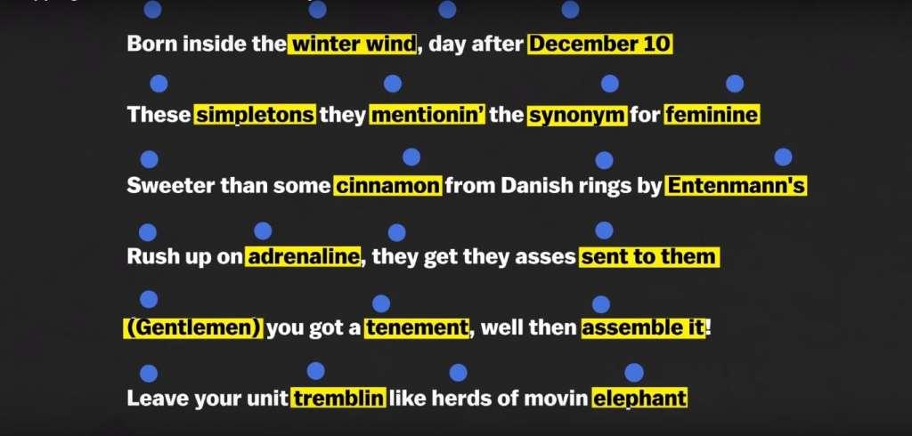 """Mos Def fait des rimes à quatre syllabes sur """"Re;Definition"""" en 1998"""