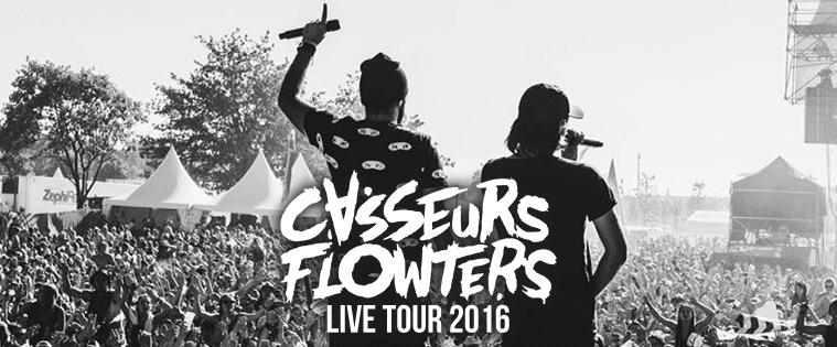 Casseurs Flowters Live Tour 2016 Fans video