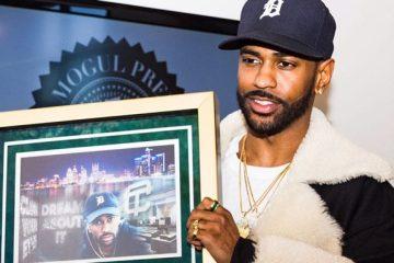 Big Sean reconnu en héros local à Détroit reçoit les clefs de la ville