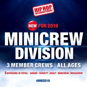 Introducing the MiniCrew Division Trios… Hip Hop International style!