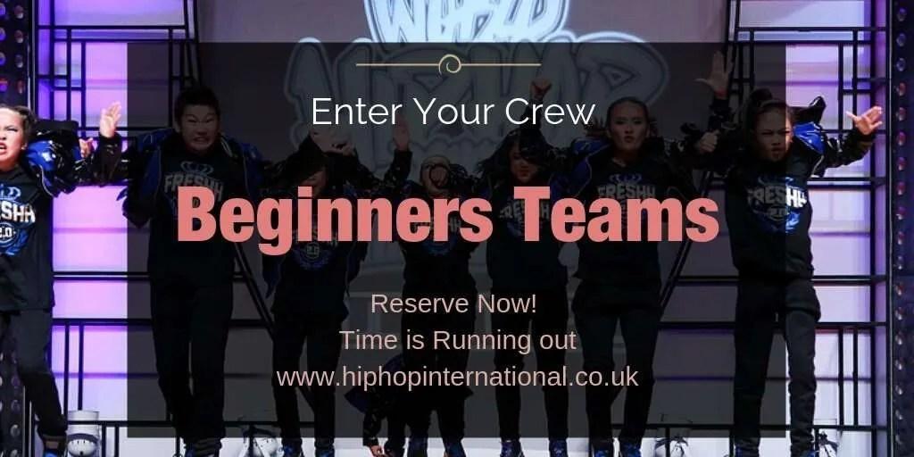 UpcomingUK Hip Hop Dance Championships 2020 – Beginners!