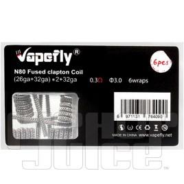 Vapefly Ni80 Pre-coiled Coils