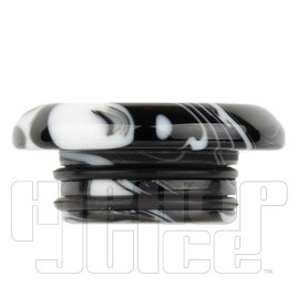Black Low Profile Resin 810 Drip Tip