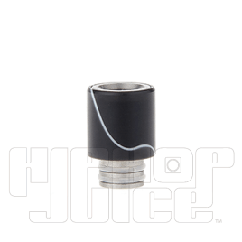 Acrylic Wrapped Stainless Steel Hybrid 510 Drip Tip