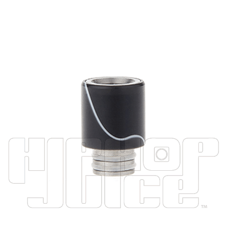 Acrylic-Wrapped-Stainless-Steel-Hybrid-510-Drip-Tip-(Dual-O'Ring)-1