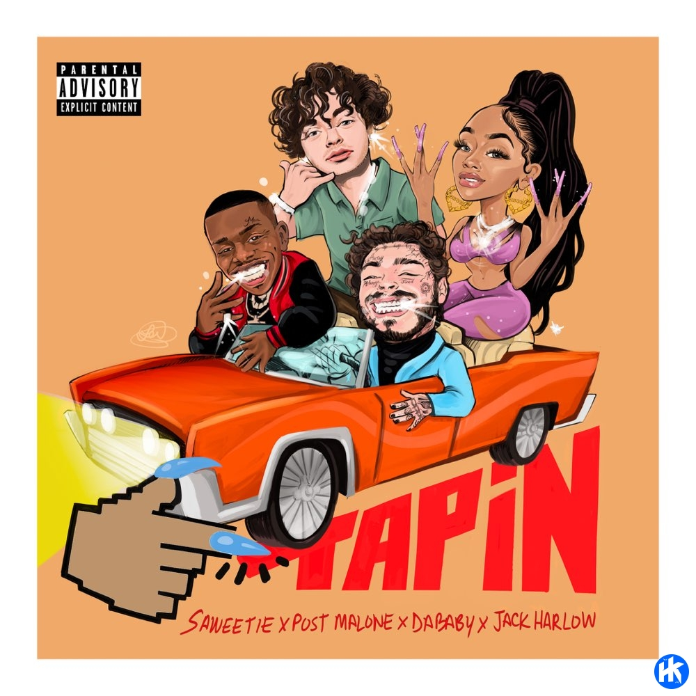 Saweetie – Tap In (Remix) ft. DaBaby, Post Malone & Jack Harlow