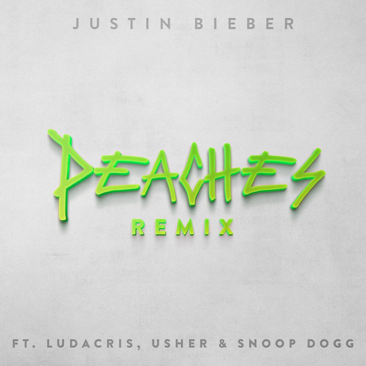Justin Bieber - Peaches (Remix) ft. Ludacris, Usher & Snoop Dogg