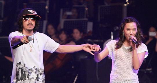 Tiger JK and Yoon Mirae