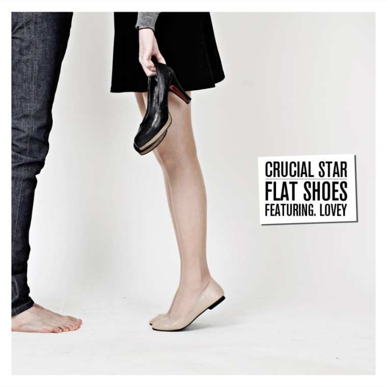 Crucial Star - Flat Shoes (Feat. Lovey) album cover