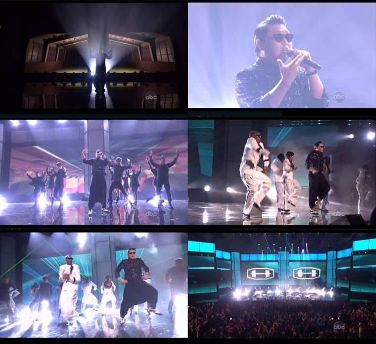 Psy - Gangnam Style (with MC Hammer at 2012 American Music Awards) screenshots