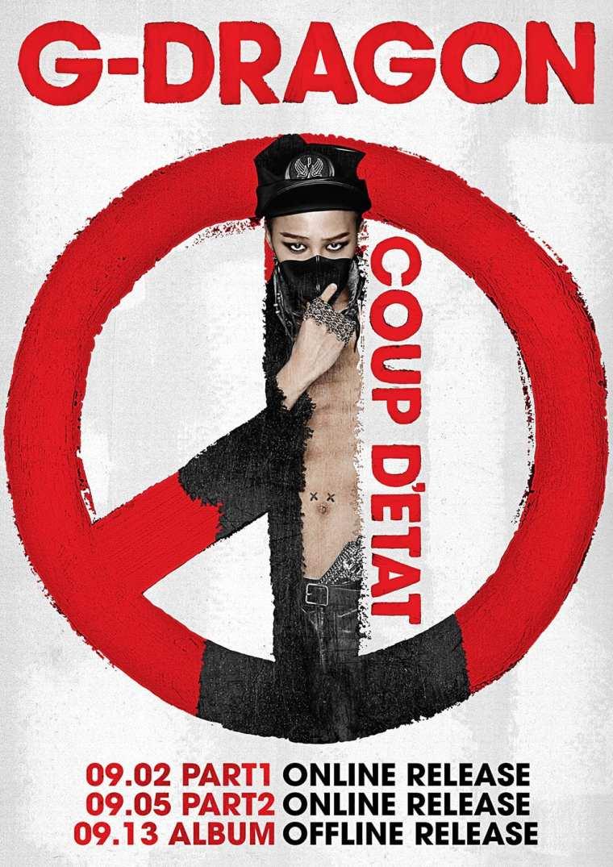 G-Dragon - Coup D'Etat releases