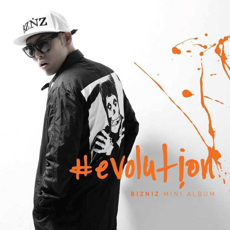 Bizniz - Evolution (album cover)