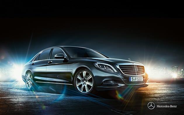 Mercedes Benz S500 ($177,759-245,126 USD)