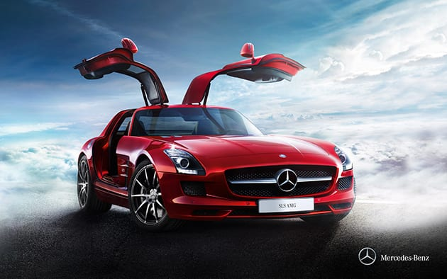 Mercedes Benz SLS AMG ($227,813 USD)