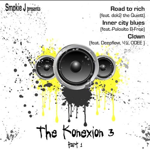 Smokie J presents The Konexion 3 Part 1 (cover)