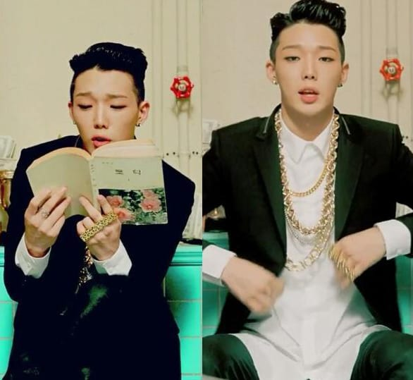 Bobby in 'Born Hater' MV