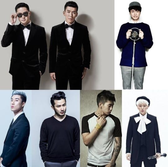 Confirmed judges for 'Show Me the Money 4'. Photo source: 일간스포츠