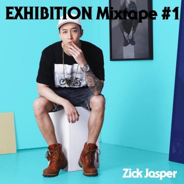 Zick Jasper - EXHIBITION Mixtape #1 (cover)
