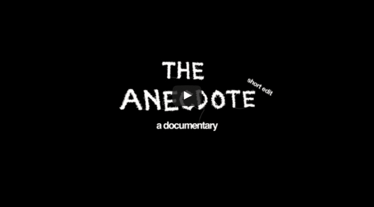 E SENS - The Anecdote: A Documentary (short edit)