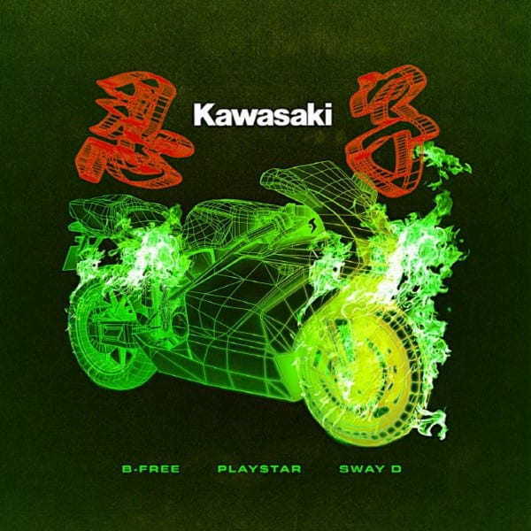 B-Free - Kawasaki (Feat. Play$tar, Sway.D) cover