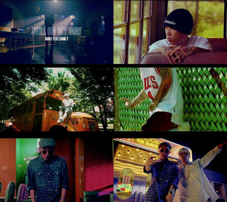 Dok2 - Still On My Way (Feat. Zion.T) MV screenshots