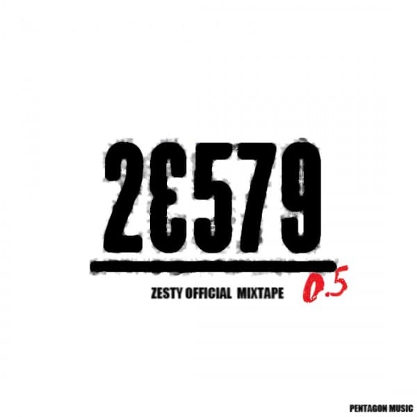 Zesty - 23579 mixtape cover