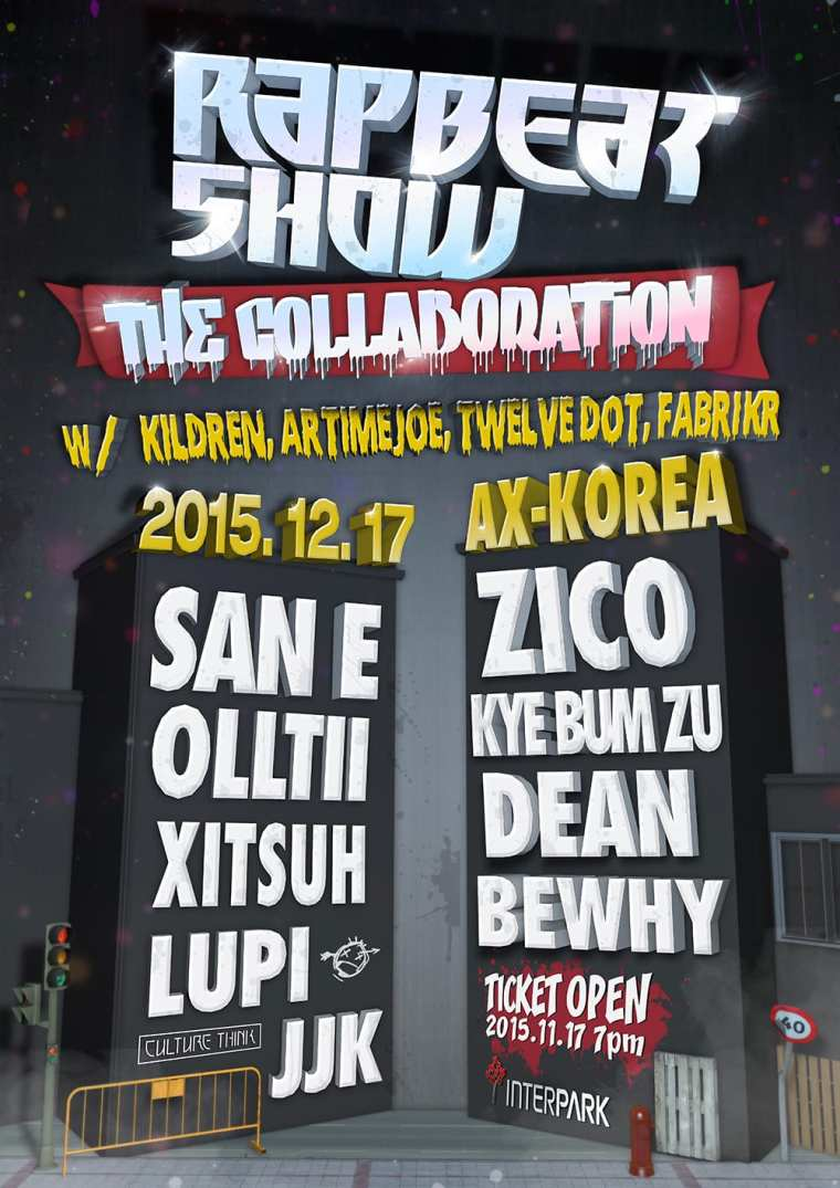 Rapbeat Show The Collaboration poster